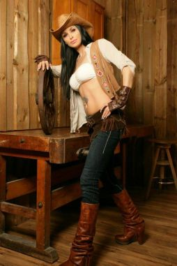 Cowgirl Stripperin